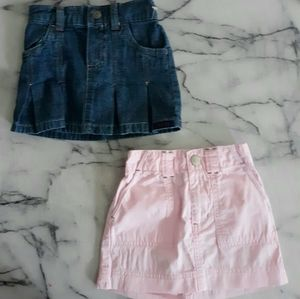 Lot of 2 Skirts 12-18 Months